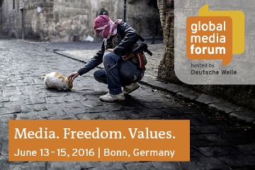 Deutsche Welle Global Media Forum 2016