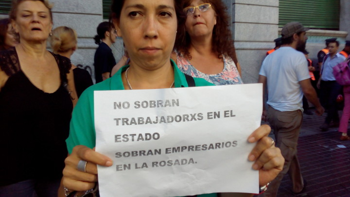 ación trabajadores estatales Argentina