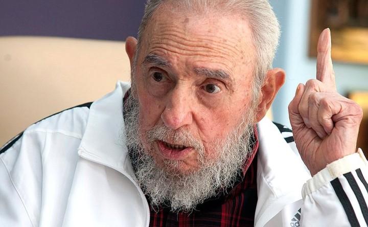 Fidel Castro al Congresso del Partito Comunista Cubano