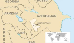Armenia y Azerbaiyán acuerdan un alto el fuego en Nagorno Karabaj