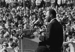 April 4th: anniversary of assassination of Dr. Martin Luther King Jr.