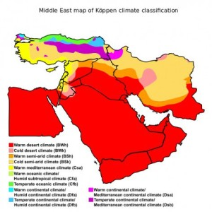 Will the Middle East Become 'Uninhabitable'?