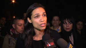 """It's a Revolution"": Actress Rosario Dawson on Why She Supports Sanders for President Over Clinton"