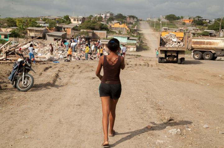 Pedernales: una de las ciudades más devastadas en el terremoto en Ecuador