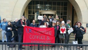 London: Trial begins for activists accused of disrupting world's largest arms fair