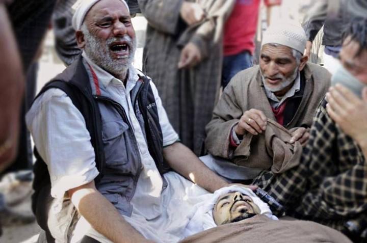 Tears don't dry In Kashmir