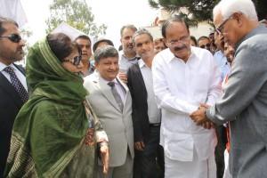 Daughter follows father to pacify Jammu Kashmir