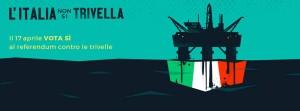 Referendum del 17 aprile 2016 contro le trivellazioni in mare. Incontro con Emilio Molinari