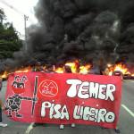 São Paulo/SP: MTST bloqueia estradas em nove estados contra o golpe
