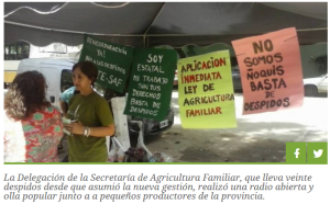 Despidos en Argentina: Olla popular y radio abierta en el marco de la Jornada de protesta nacional
