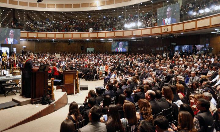 Rafael Correa: último informe a la Nación