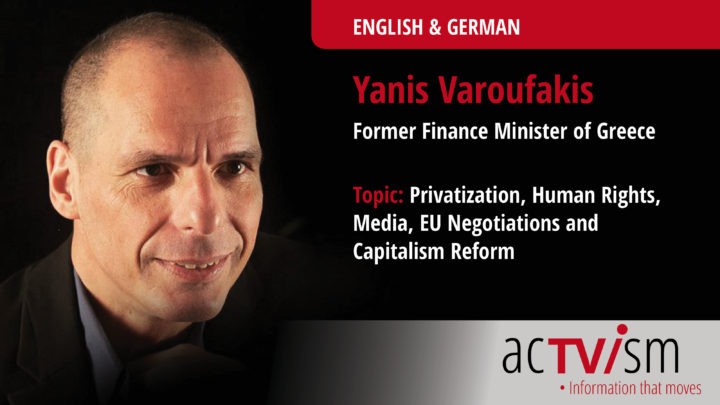 Yanis Varoufakis talks about Privatization, Human Rights & Capitalism