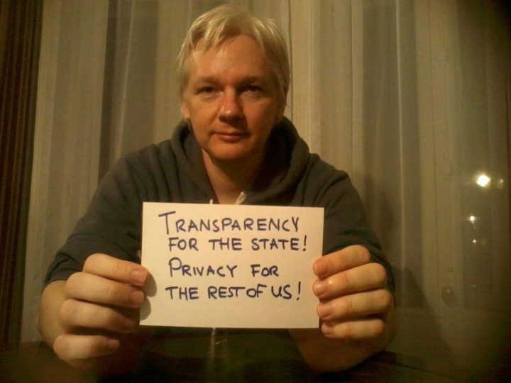 Assange transperency