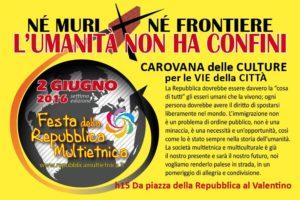 Torino, 2 Giugno: festa della Repubblica Multietnica