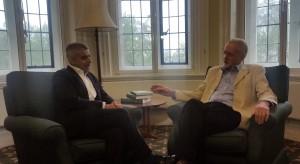 Jeremy Corbyn visita a Sadiq Khan, nuevo alcalde de Londres