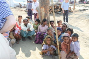 China reaches over the Rohingya to touch the Indian Ocean