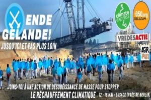 """Ende Gelände! del 13 al 15 de mayo, """"campamento climático"""" europeo en Alemania"""