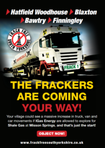 Anti-Frackers vow fierce resistance as UK goes back 'Up for Shale'
