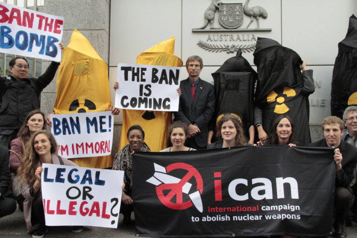 We're off! to ban nuclear weapons