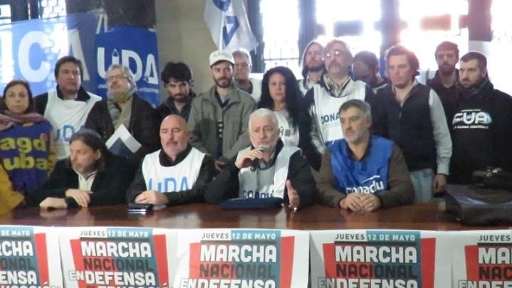 Argentina: Marcha Nacional en Defensa de la Educación y la Universidad Pública