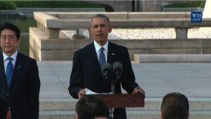 Obamas Hiroshima Rede: ein Schritt in Richtung Versöhnung oder schamlose Scheinheiligkeit?