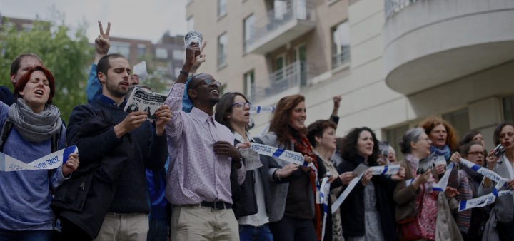 Bruxelles : Chanter pour dire «non» à  la signature du TTIP et du CETA !