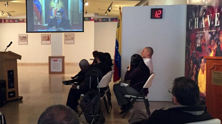 Conférence de presse internationale du président Nicolas Maduro