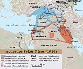 Siria: A cien años del colonialista Acuerdo Sykes-Picot