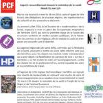 Paris, rassemblement le 31mai : les GHT (Groupements Hospitaliers de Territoire) un risque pour la santé