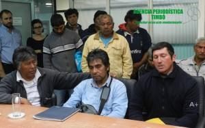 Dirigentes indígenas piden protección jurídica