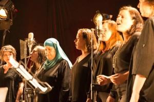 Gedenktag – Gemeinsame Zeremonie von Palestinänsern und Israelis