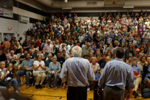 The Sanders Voter: protesting American privilege at home and abroad