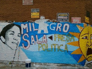 Argentina: 100 murals for Milagro Sala's freedom