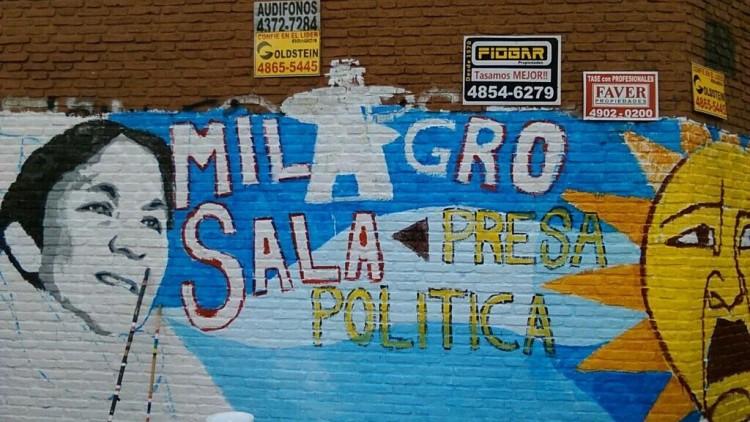 Argentina: 100 murais pela a liberdade de Milagro Sala