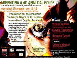 Argentina a 40 Anni Dal Golpe