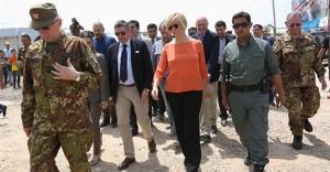 La ministra Pinotti madrina dell'italica flotta del Qatar