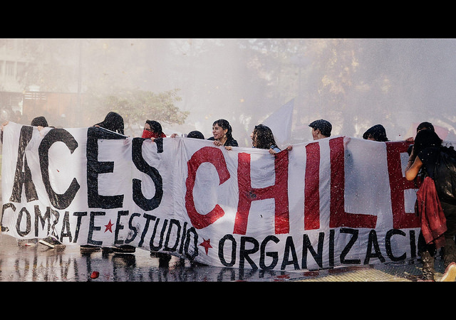 Movimento estudantil retoma as ruas no Chile