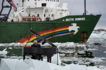 So How Did They Get That Grand Piano to the Arctic?