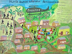 Por entre guerrilhas, um exemplo de paz