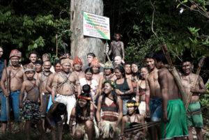 Amazzonia: indigeni Munduruku delimitano le loro terre insieme a Greenpeace