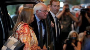 Hillary Clinton Wins in Washington, D.C. and Meets with Sanders