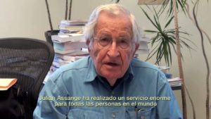 "Chomsky: ""We should all thank Assange for his courage and integrity"""