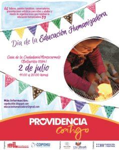 """Aparece un tema central: """"La Educación tiene que ser humanizadora"""""""