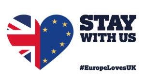 Liebe und Respekt zwischen Völkern: #EuropeLovesUK