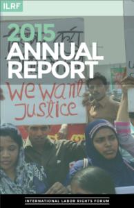 International Labor Rights Forum – 2015 report