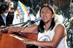 Amnesty International demands 'the immediate release' of Milagro Sala
