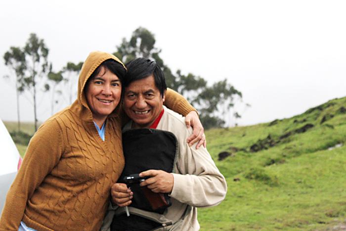 Vidas dedicadas 5. Luis Montaluisa y Catalina Álvarez:  22 años de lucha por los derechos de los pueblos indígenas