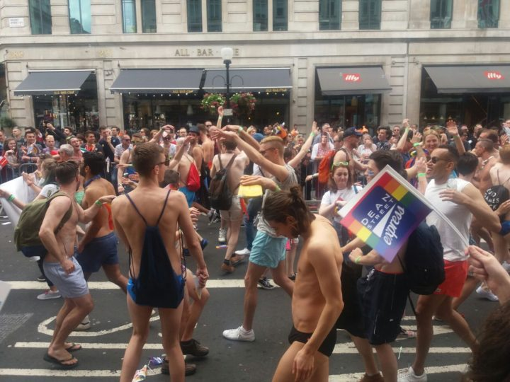 Pressenza - Gay Pride in London: welcome relief from EU troubles