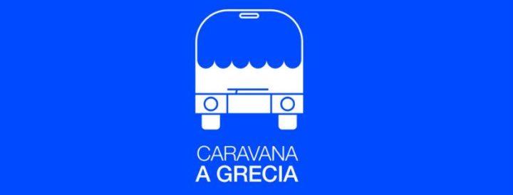 Caravana a Grecia, Abriendo Fronteras