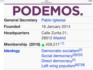 Podemos rises in polls amid anti-austerity fever in Spain